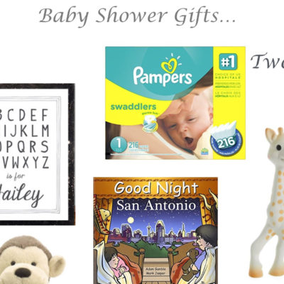 A Baby Sprinkle and Baby Gift Guide