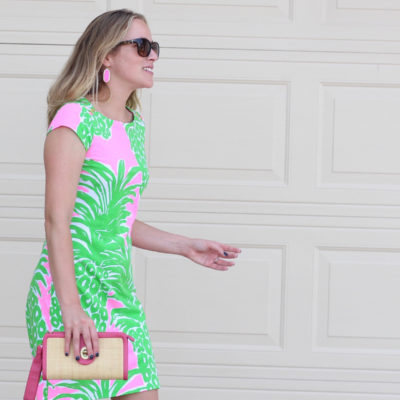 Packing for an Overnight Trip & Lilly Pulitzer Pineapple Dress